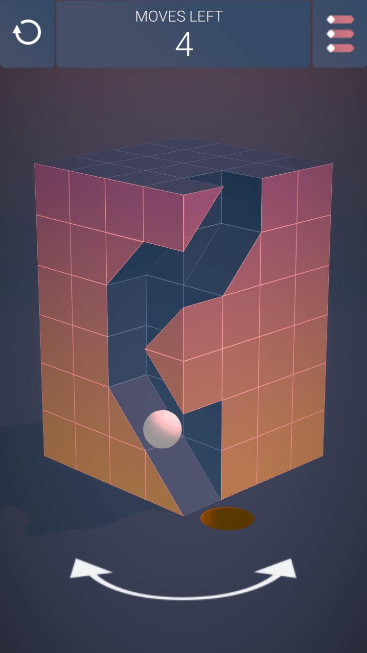 Plock It's app design is minimalist and sleek with stunning artwork