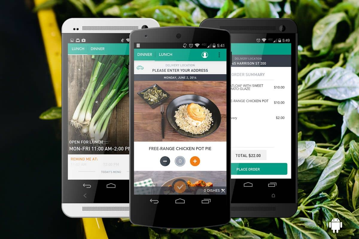 Sprig app not only cares about your health but also your vision with its beautiful mobile app design