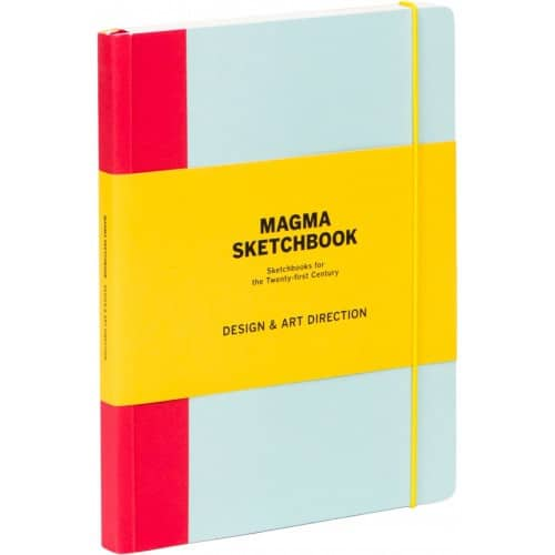 Outer view of the Magma Sketchbook notebooks for designers.