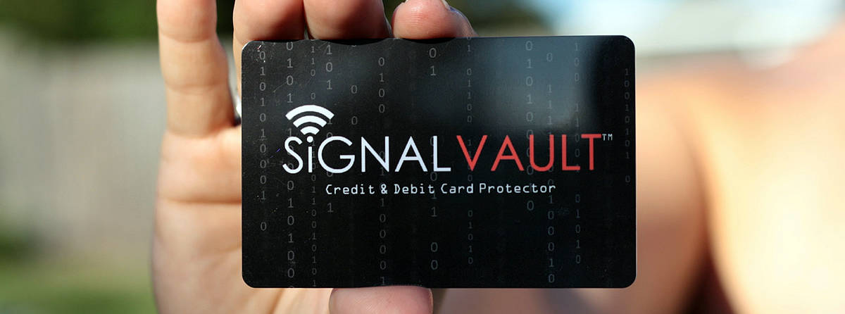 A photo of SingalVault, one of many successful tech startups from Shark Tank.