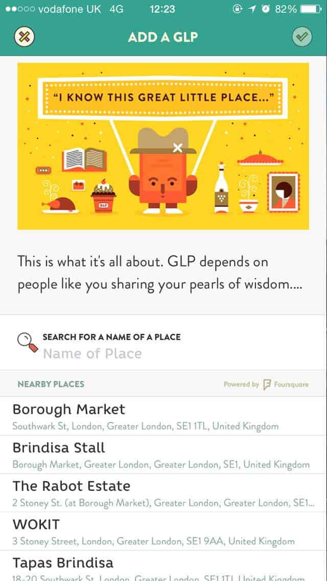 Mobile app Great Little Place depends on users to widen its community
