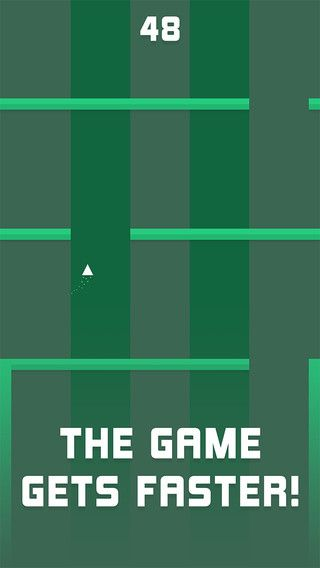 Radical is a mobile game that sports a colorful and funky app UI