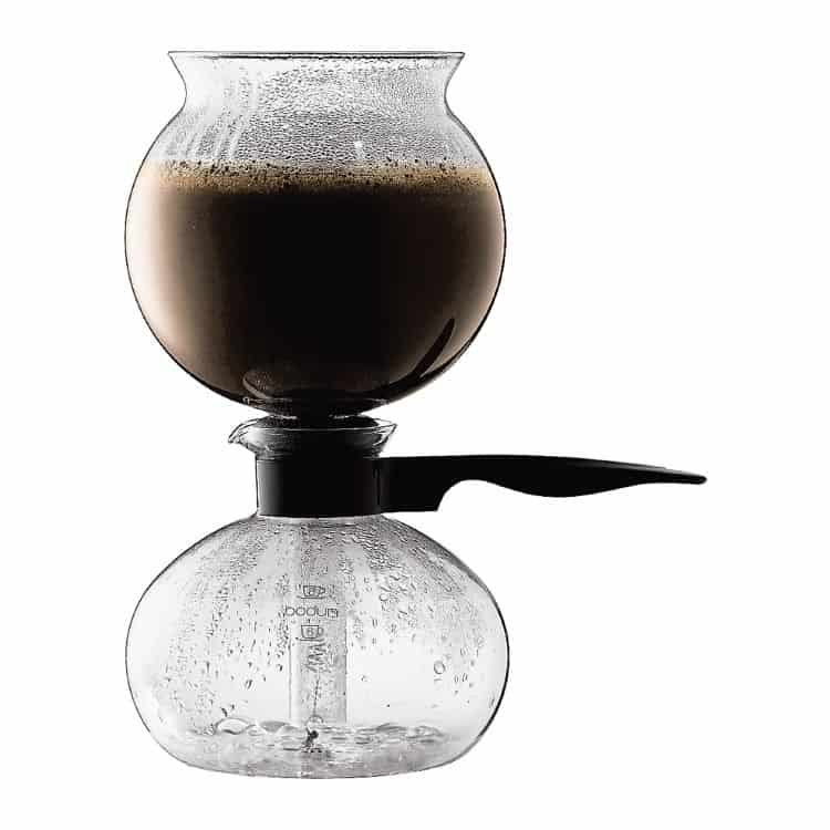 Bodum's Pebo coffee makers are filterless and air-sealed for aromatic freshness.