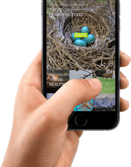 Screenshot of BeautifulNow app to help increase mindfulness