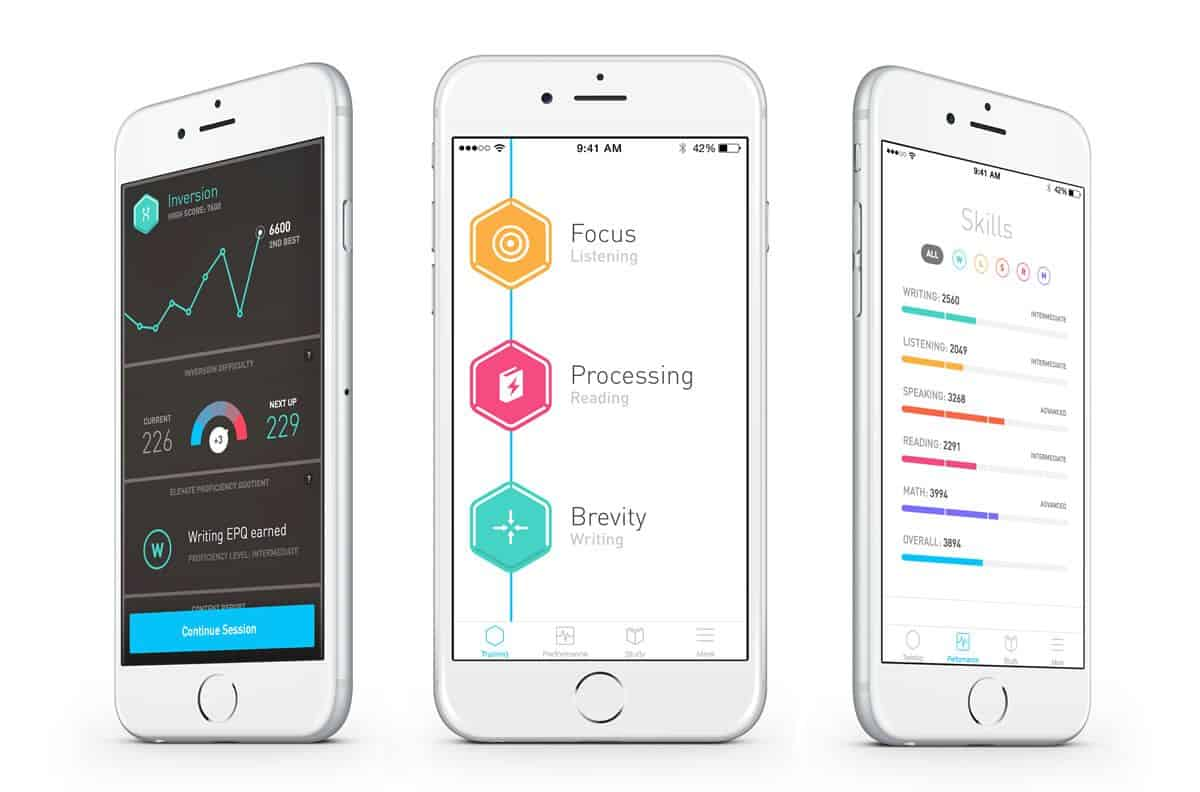 Elevate app for iOS and Android to train your mind for mindfulness