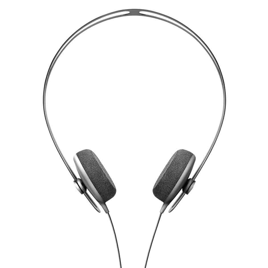 The very sleek Tracks Headphones by AIAIAI in black