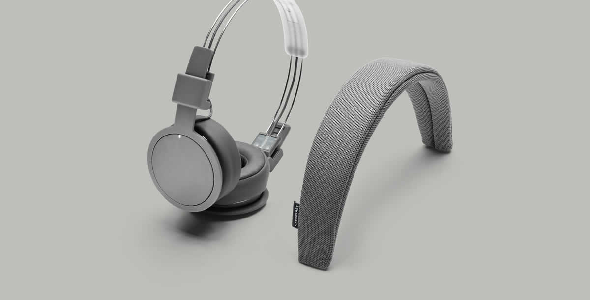 The headband and ear cushions of the Plattan ADV Wireless by Urbanears are removable and washable.