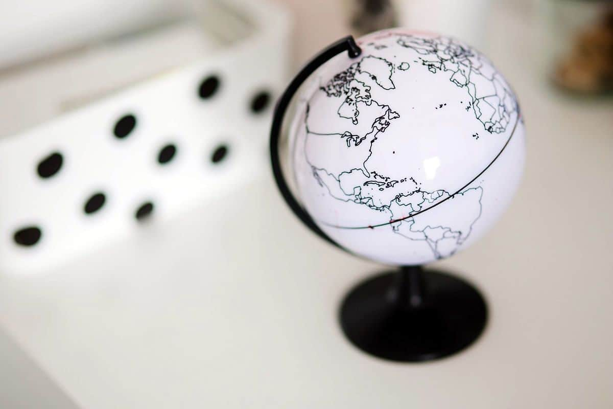 A little white globe on a desk. Just like everything else, the future of mobile app development is about to go really global.