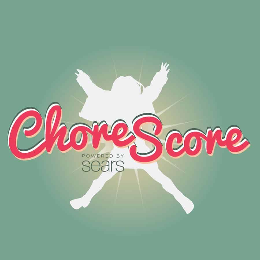 A static image from the ChoreScore app for Sears, developed by Omega Ortega / Vertical Play.