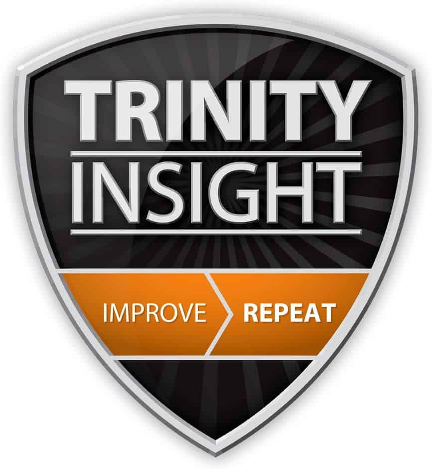 The Trinity Insight shield logo.