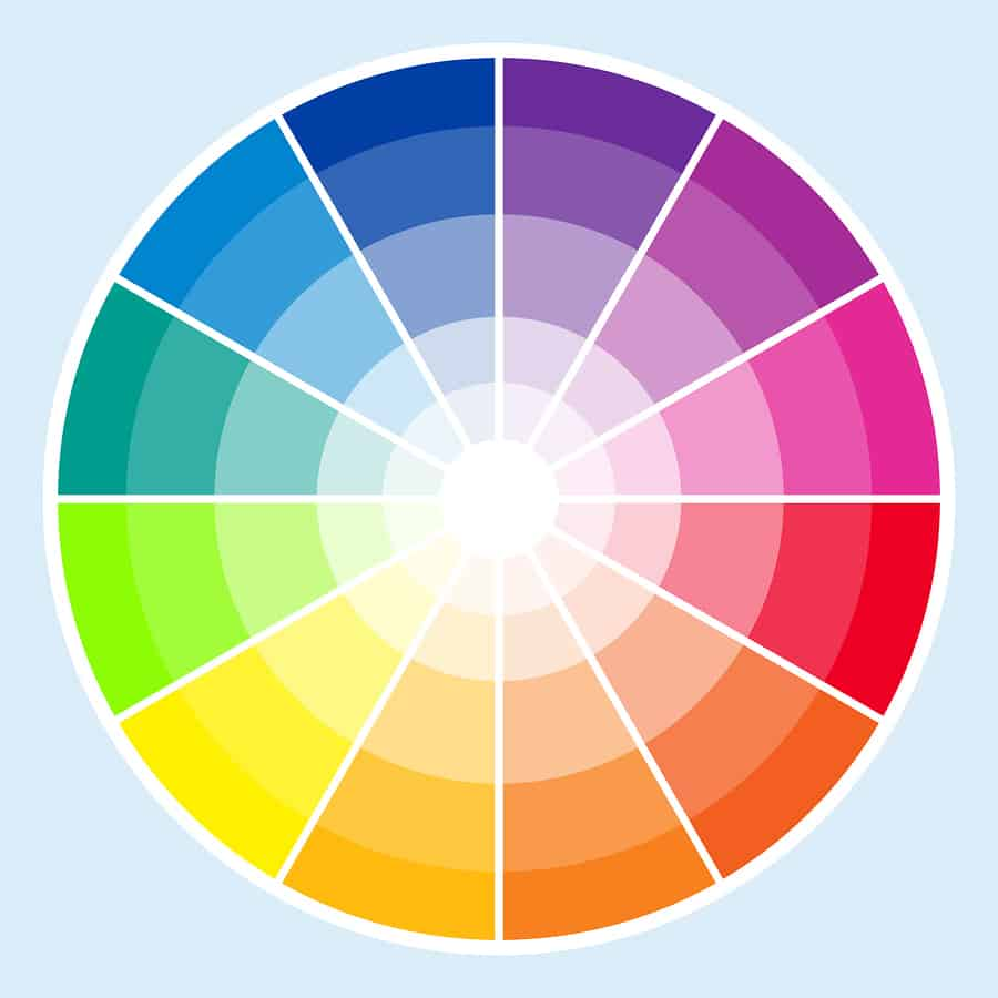 An Image Of A Color Wheel Important Tool When Building Graphic Design Philosophy