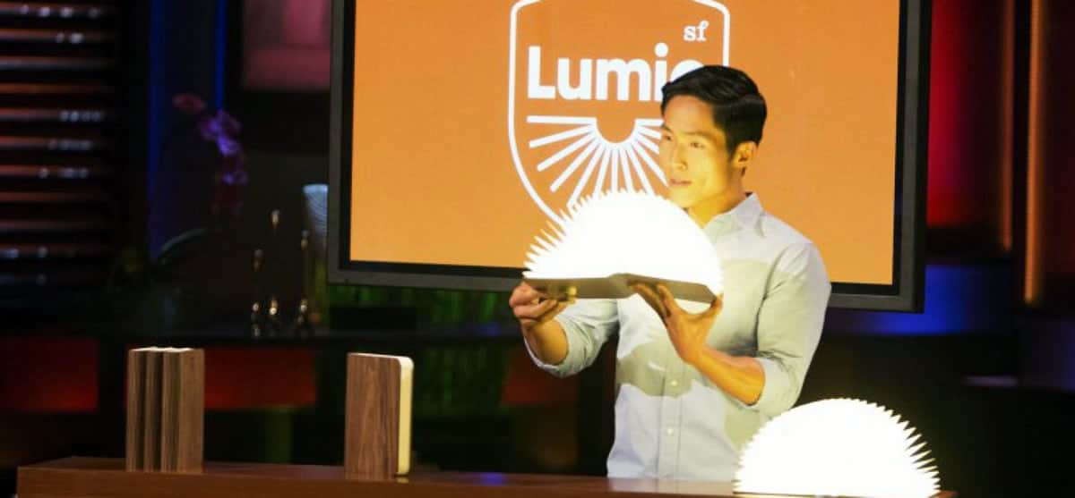 A photo of the Lumio, one of many successful tech startups from Shark Tank.