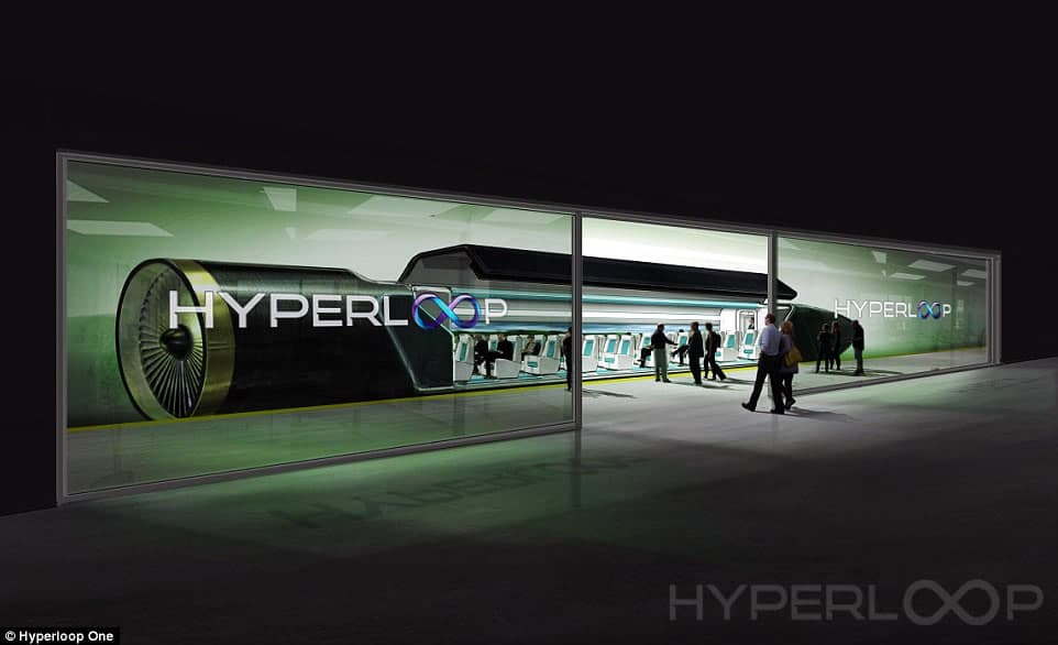 Image of what the hyperloop pod could look like