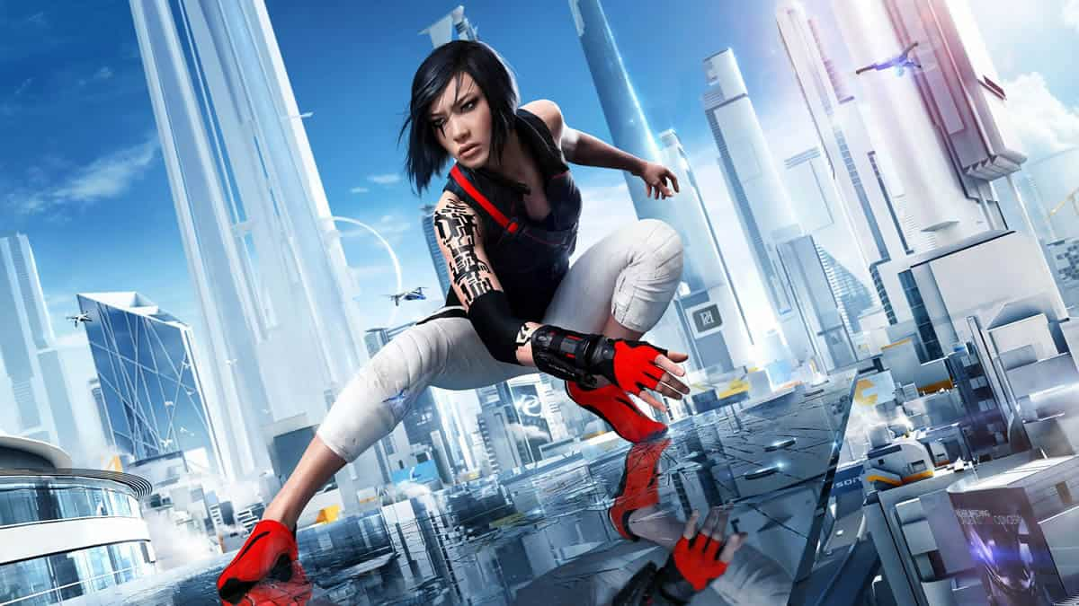 A photo of Mirror's Edge, an example of good design in video games.