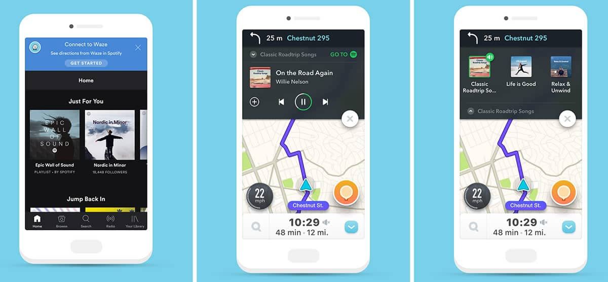 A photo of Waze, Top 10 Mobile App UI of March 2017