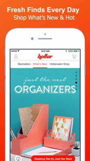 A photo of Hollar, Top 10 Mobile App UI of March 2018