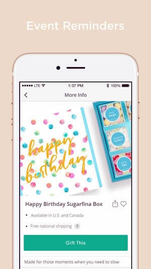 A photo of Giftagram, Top 5 Mobile App Designs of May 2018