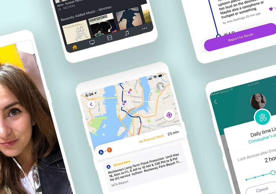 Top 5 Mobile App Designs of June 2018