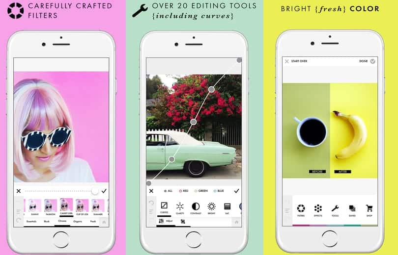 A photo of A Color Story, Top 5 Mobile App Designs of July 2018