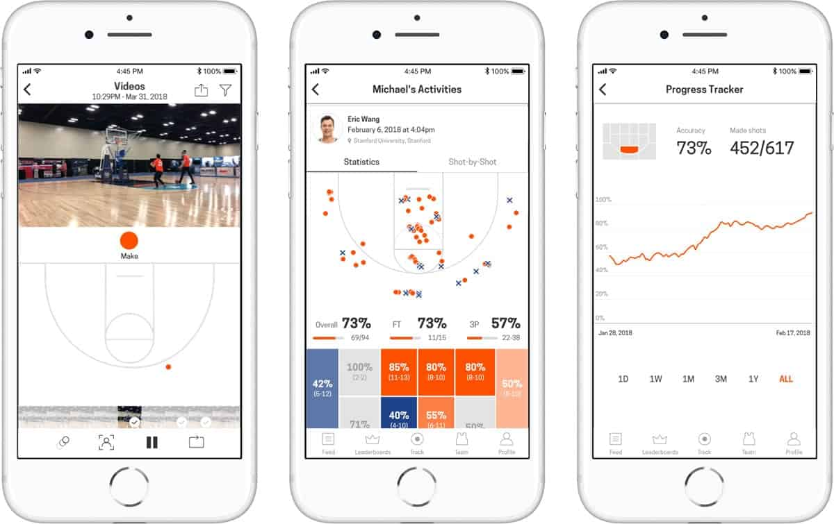 A photo of HomeCourt, Top 5 Mobile App Designs of July 2018