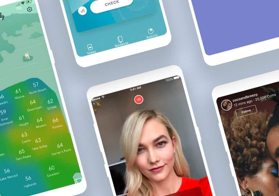 Top 5 Mobile App Designs of August 2018