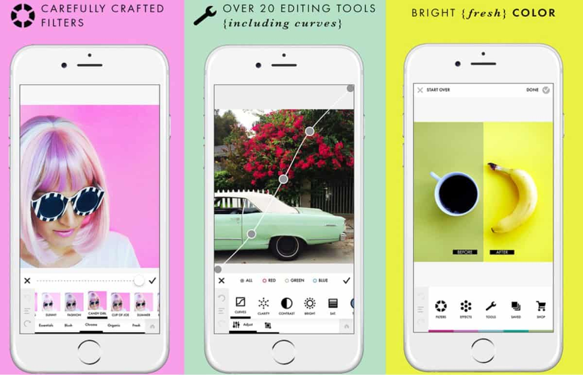 A photo of A Color Story, best mobile app designs of 2018