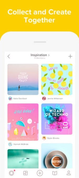 A photo of Over, best mobile app designs of 2018