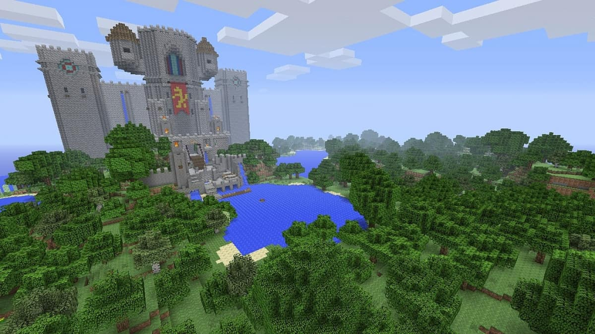 A screenshot from Minecraft.