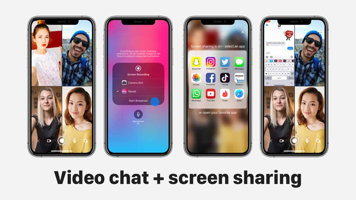 A photo of Squad, Top 5 Mobile App Designs of February 2019