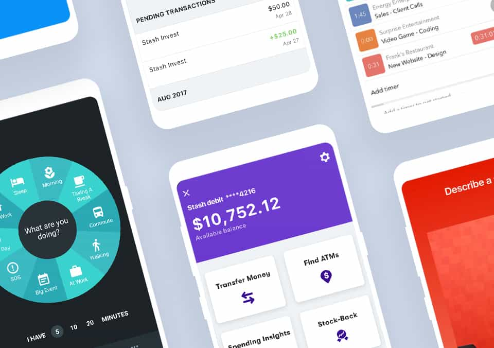 Top 5 Mobile App Designs of March 2019
