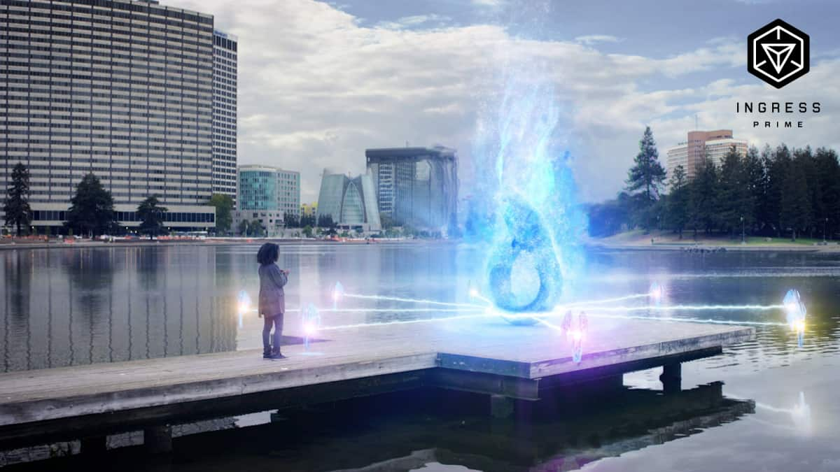 A screenshot from the mobile game Ingress Prime.