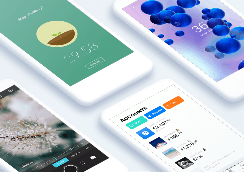 Top 5 Mobile App Designs of July 2019