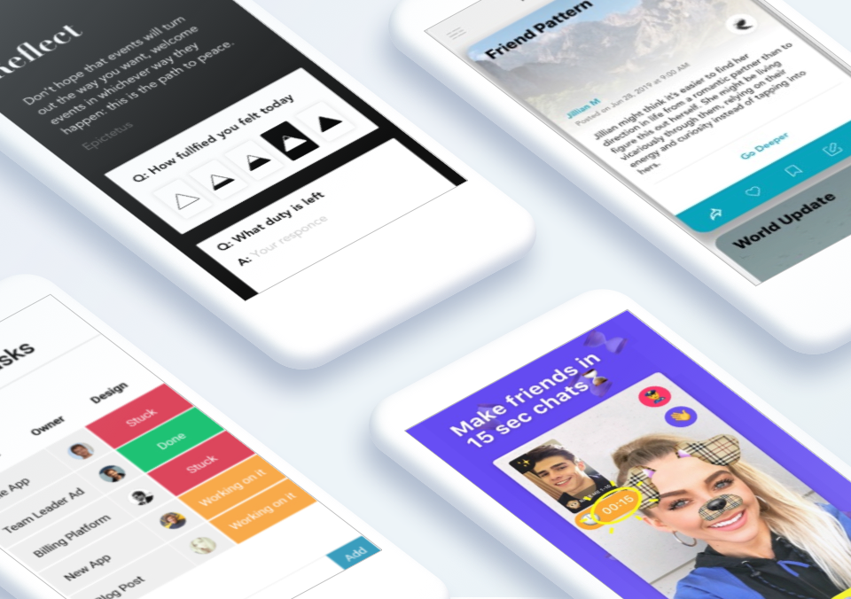 Top 5 Mobile App Designs of August 2019