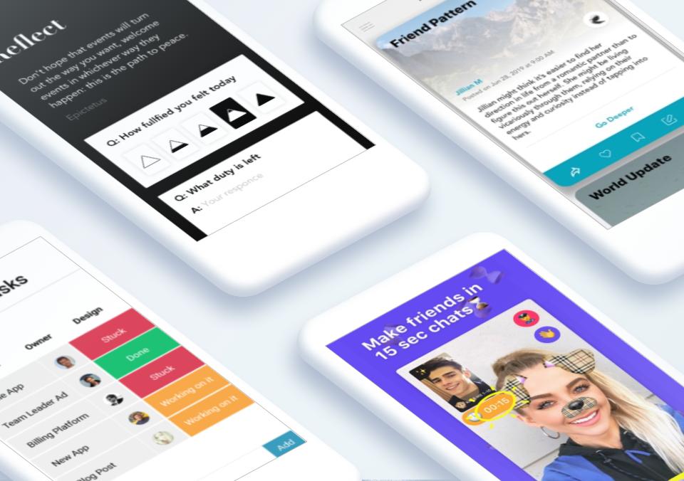Top 5 Mobile App Designs of August 2019