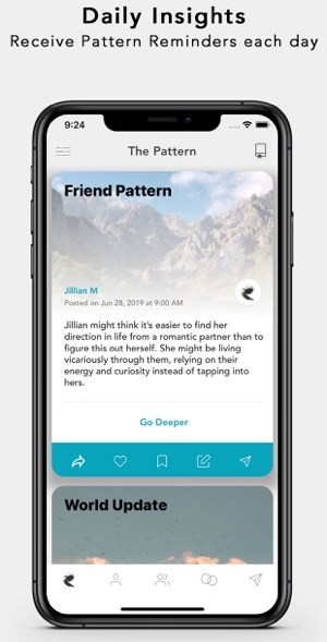 A photo of The Pattern, Top 5 Mobile App Designs of August 2019