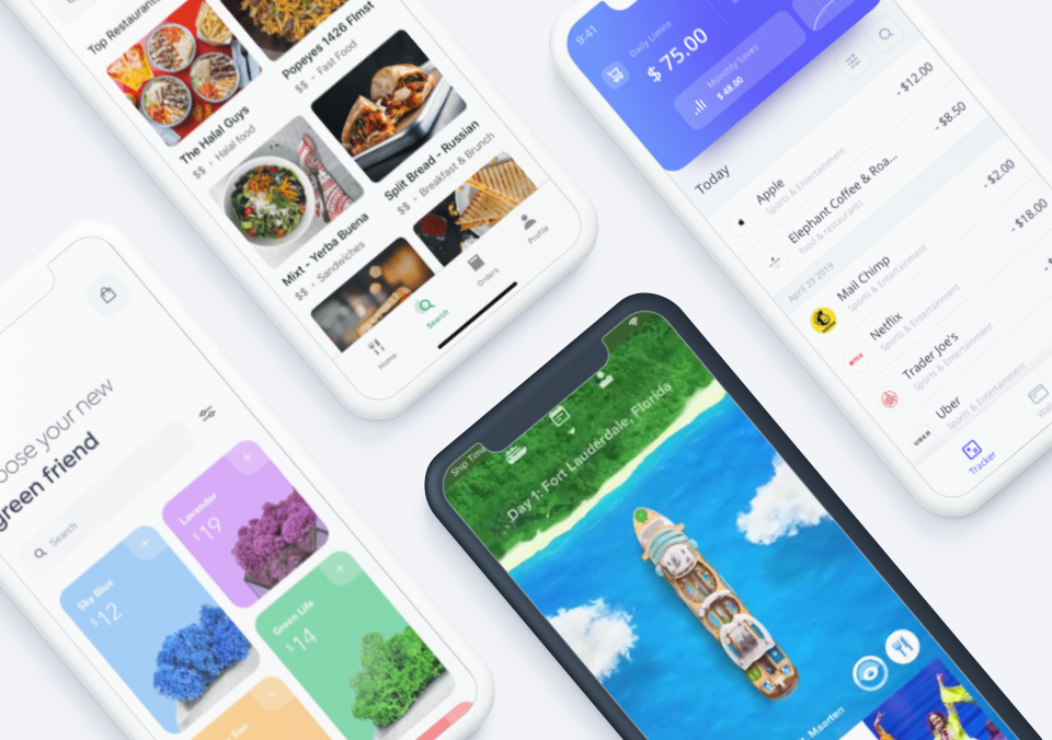Top 5 Mobile Interaction Designs of Fall 2019