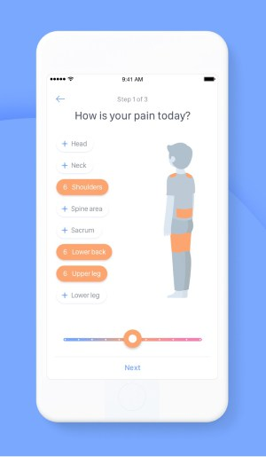 A photo of Kaia Health, Top 5 Mobile App Designs of September 2019