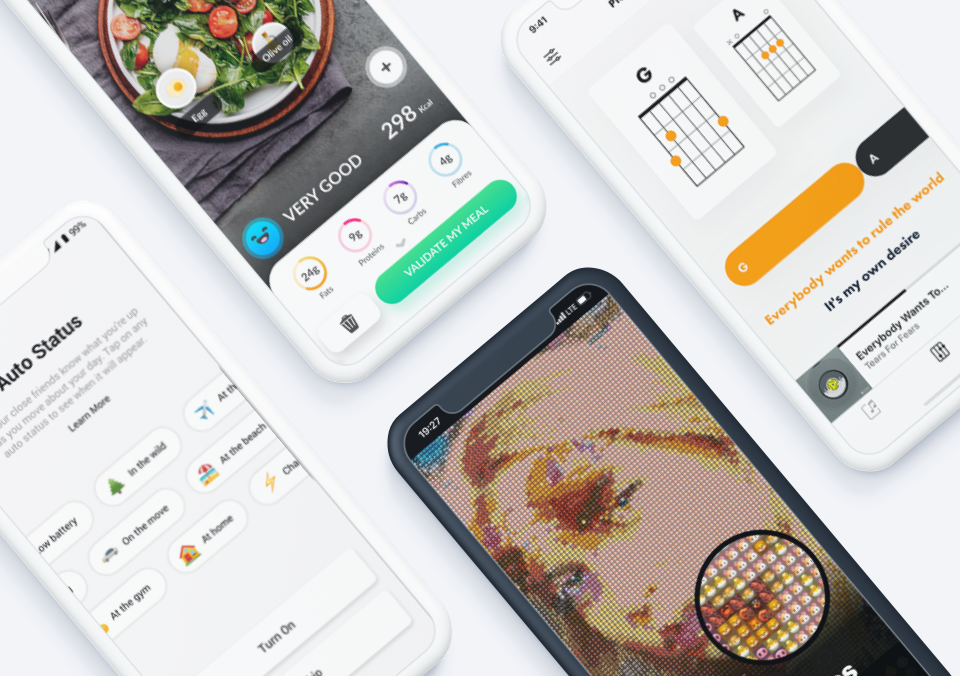 Top 5 Mobile App Designs of October 2019