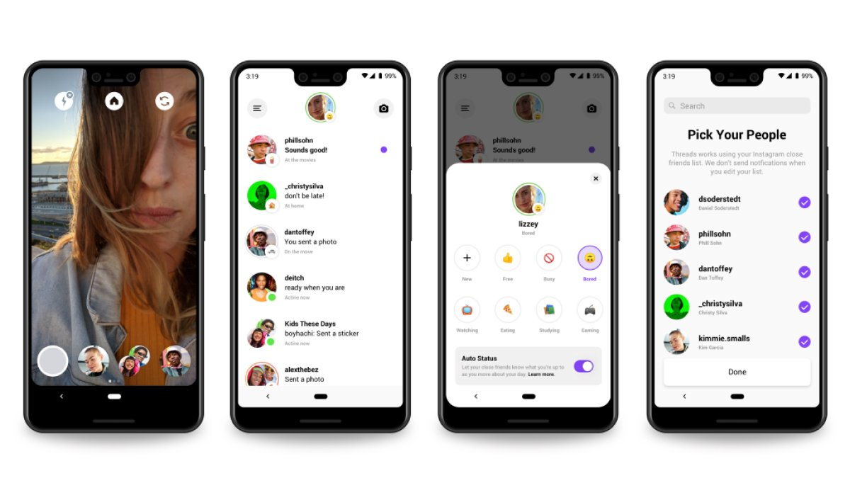 A photo of Threads, Top 5 Mobile App Designs of October 2019