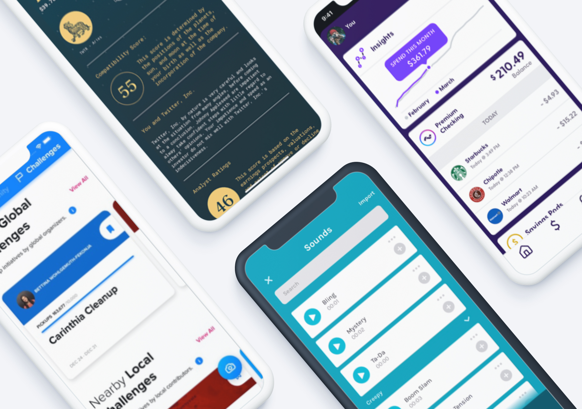 Top 5 Mobile App Designs of November 2019