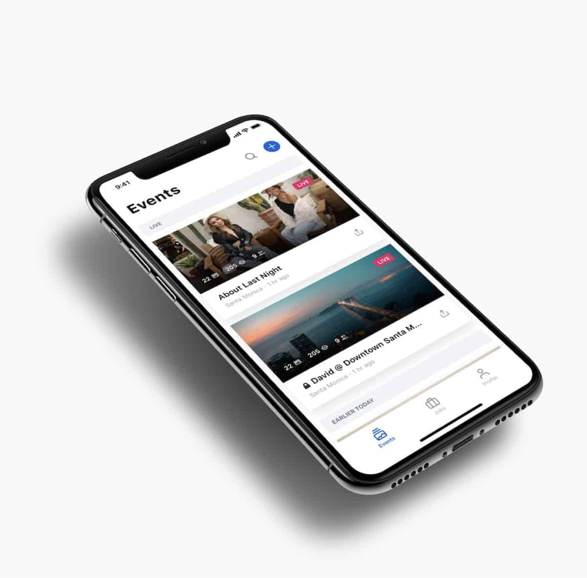 A photo of Aircam, Top 5 Mobile App Designs of November 2019