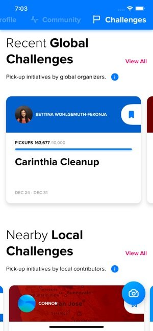 A photo of Litterati, Top 5 Mobile App Designs of November 2019
