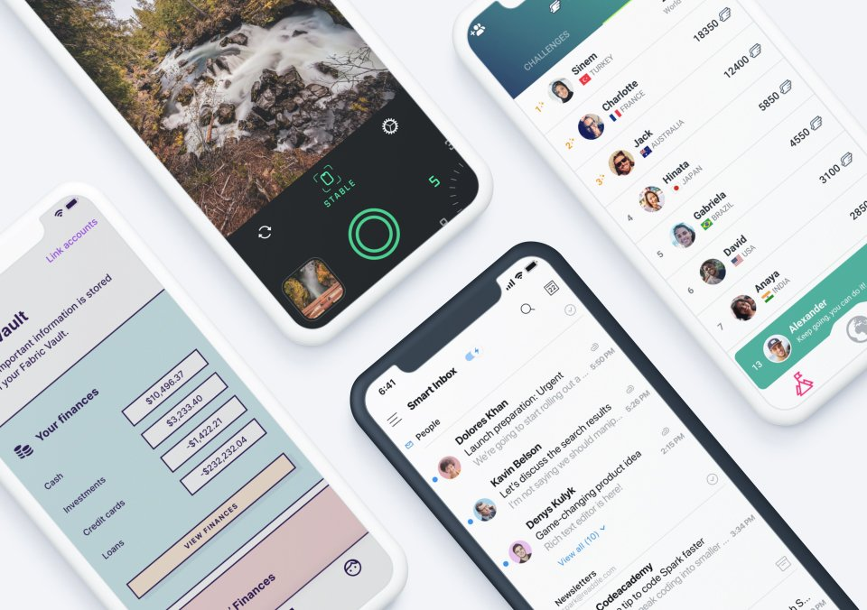 Top 5 Mobile App Designs of December 2019