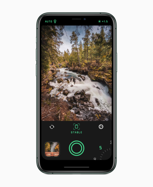 A photo of Spectre Camera, Top 5 Mobile App Designs of December 2019