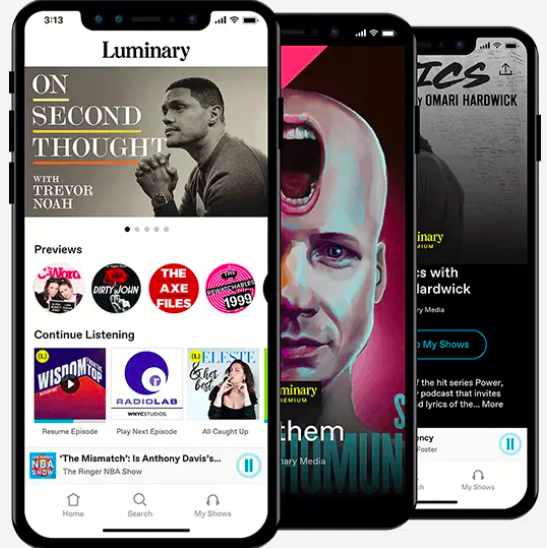 A photo of Luminary, Top Mobile App Designs of 2019