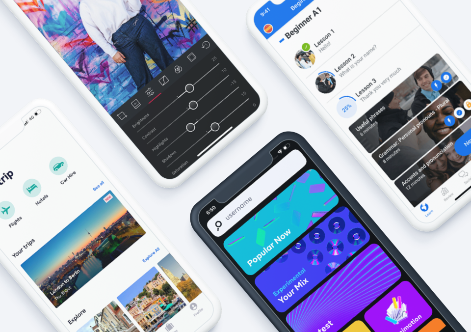 Top 5 Mobile App Designs of February 2020