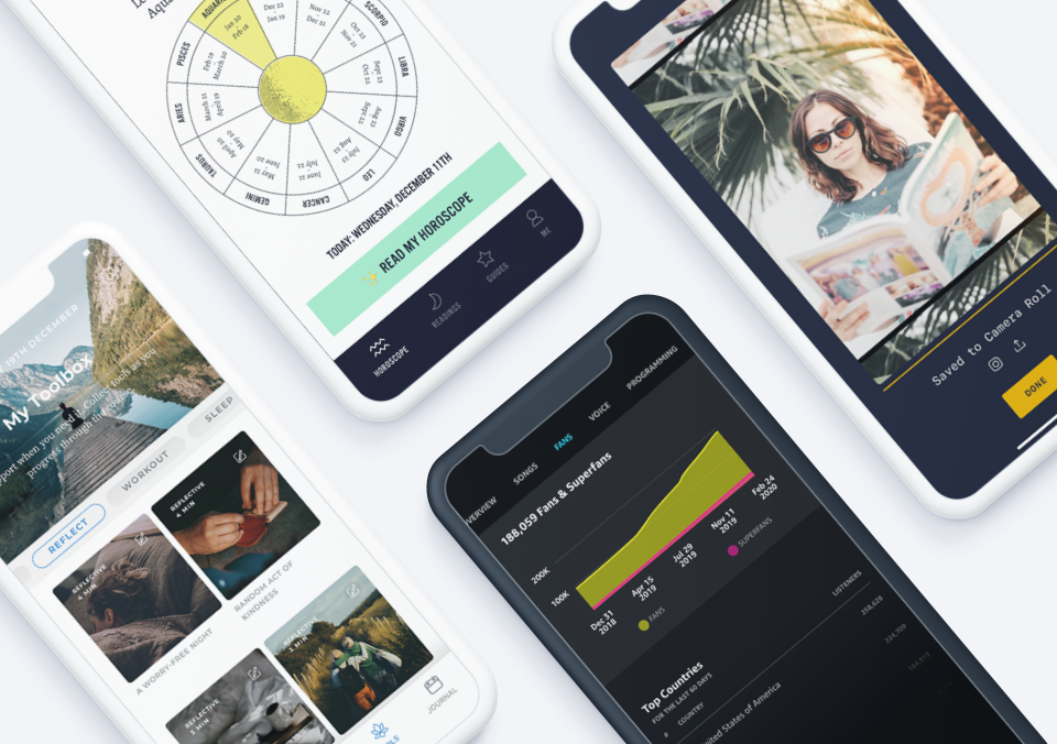 Top 5 Mobile App Designs of March 2020