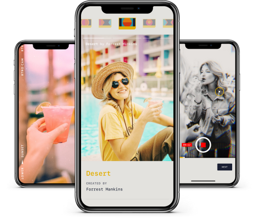 A photo of RTRO, Top 5 Mobile App Designs of March 2020