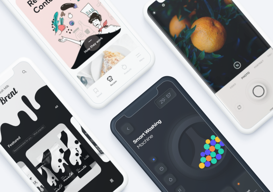 Top 5 Mobile Interaction Designs of April 2020