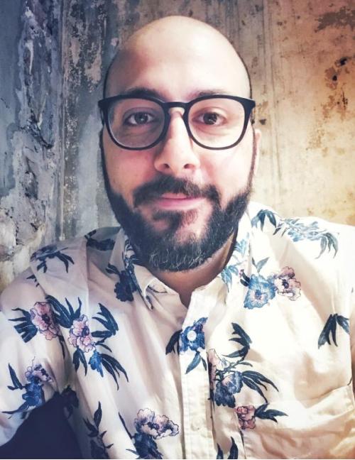 A headshot of UX designer, Jordan Kentris.